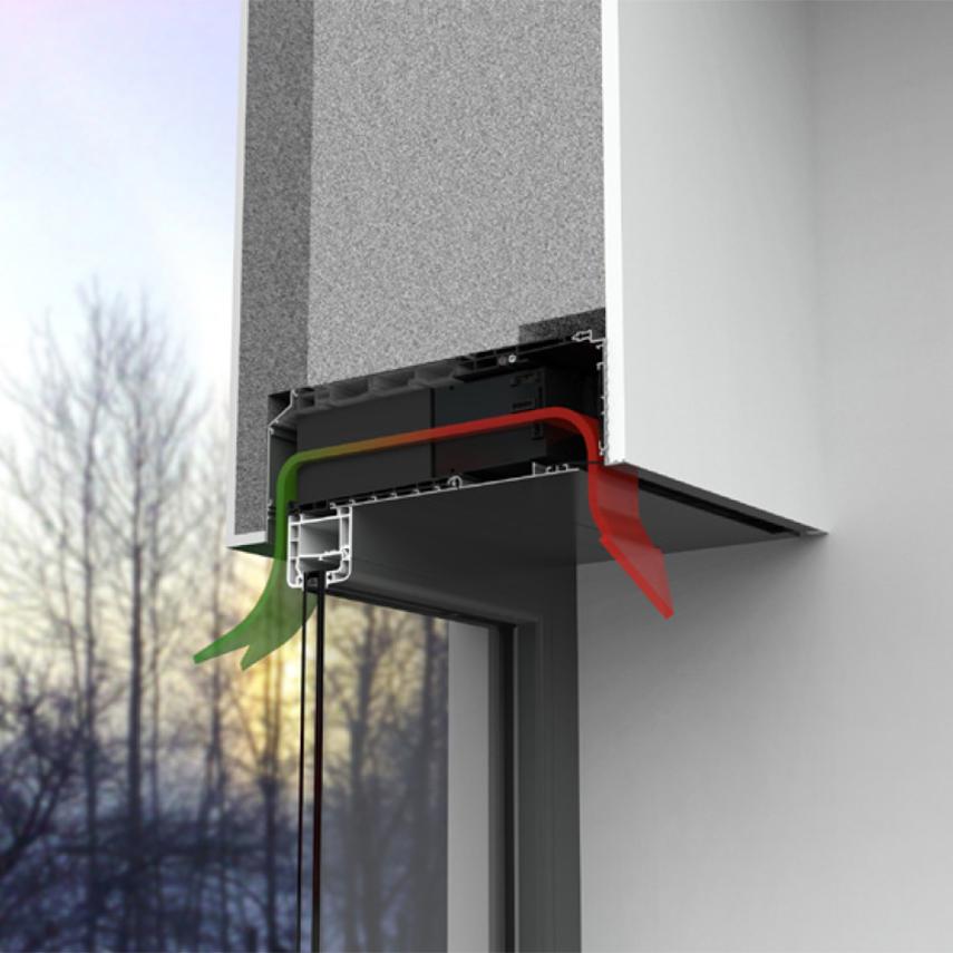 Renson Endura Twist ventilation funktion