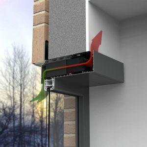 Renson Endura Twist ventilationssystem funktionalitet