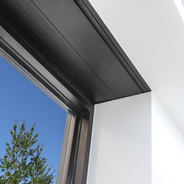 Usynlig installation af Renson Endura Twist ventilation