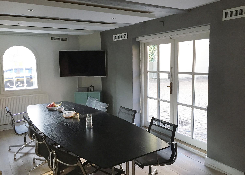 Mødelokale i Agency Spring med MicroVent ventilation