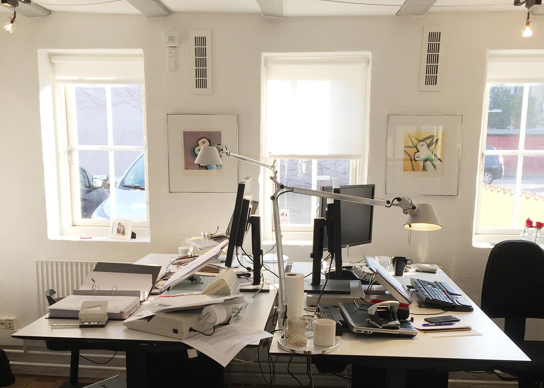 MicroVent ventilationssystem på kontor i Agency Spring