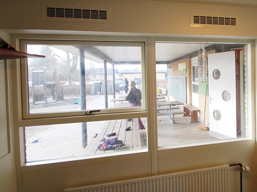 MicroVent ventilation sikrer sundt indeklima i Hjallerup Børnehave