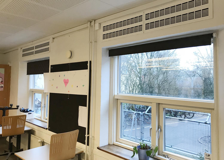 MicroVent ventilation sikrer sundt indeklima på Køge Bugt Privatskole