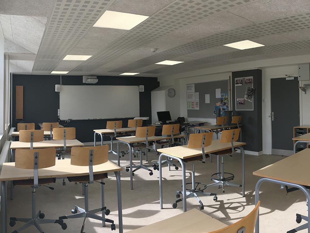 Performance+ ventilation sikrer sundt indeklima i klasselokale