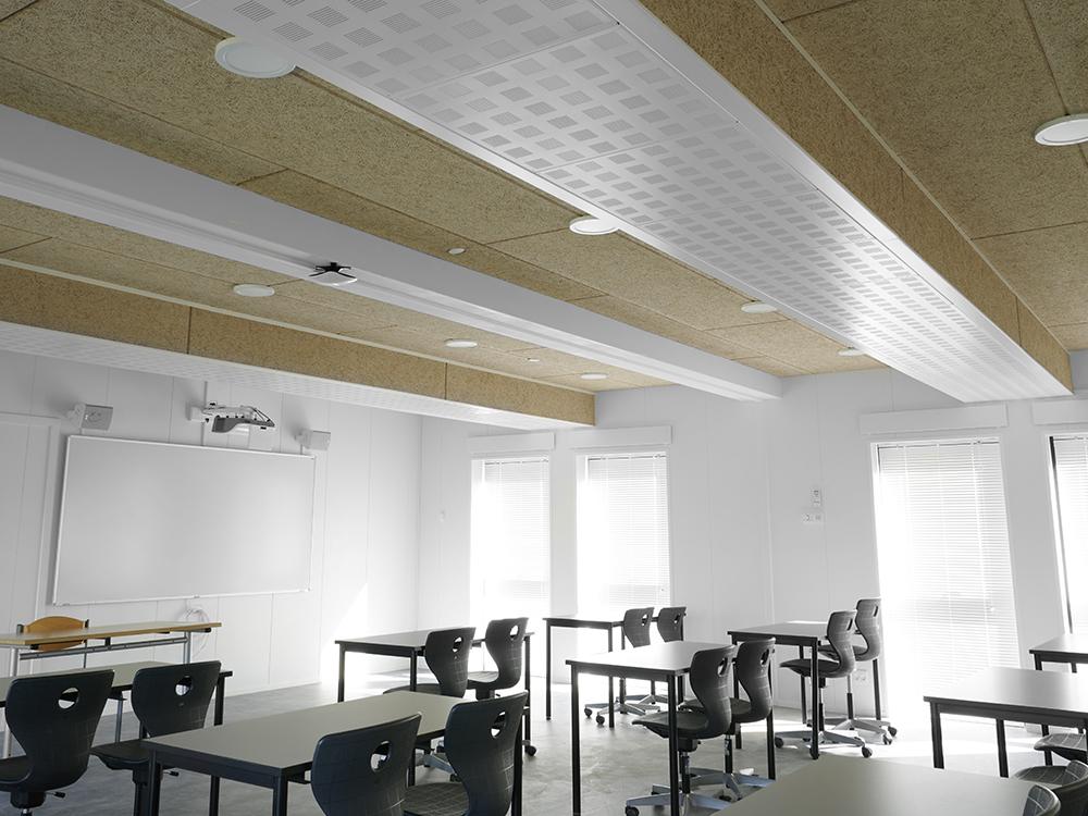 Performance+ ventilationssystem skaber godt indeklima i skolelokale
