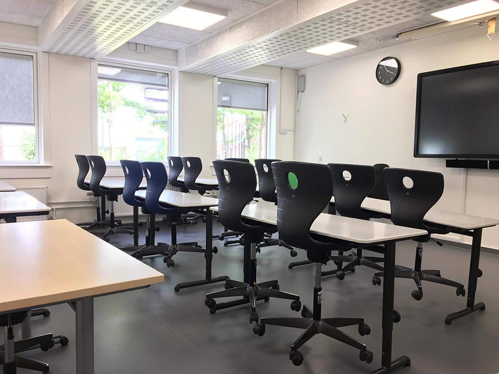Sundt indeklima i undervisningslokaler med Performance+ ventilation