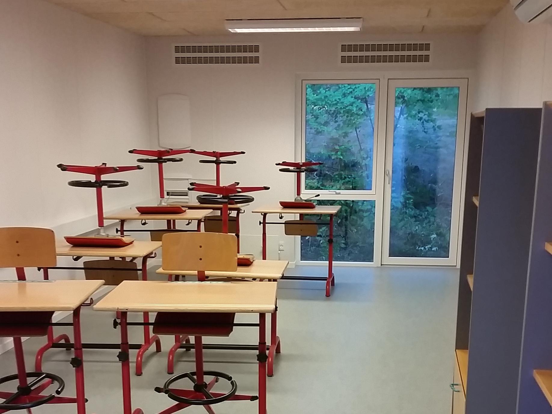 MicroVent ventilation sikrer sundt indeklima på Skivehus Skole