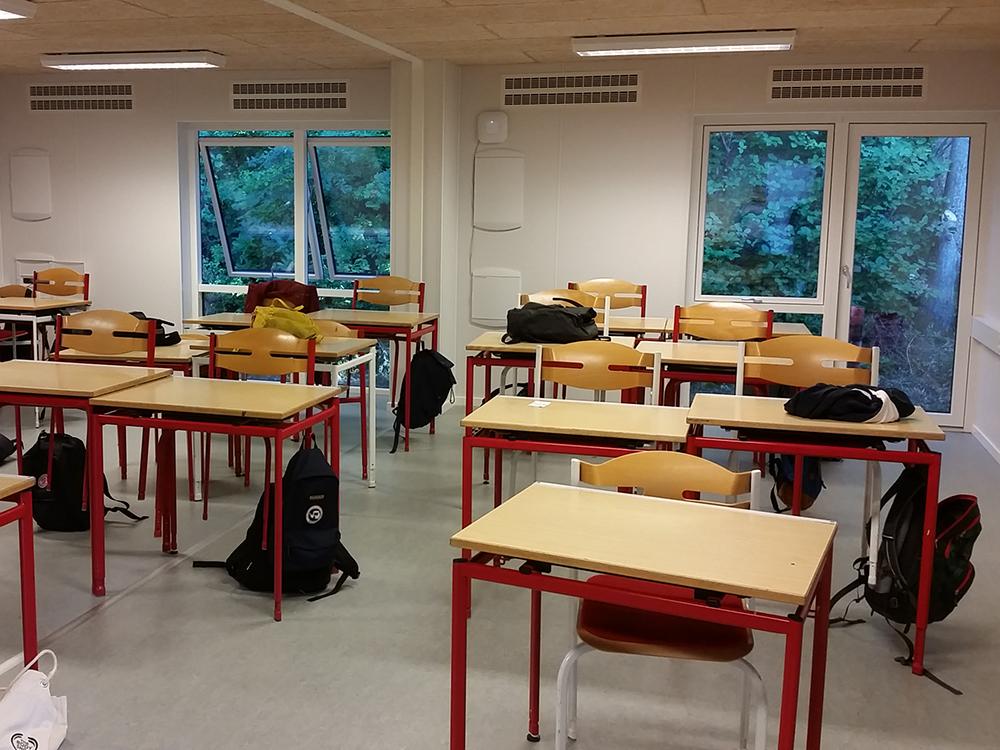 Sundt indeklima i åbne klasselokaler på Skivehus Skole med MicroVent ventilation