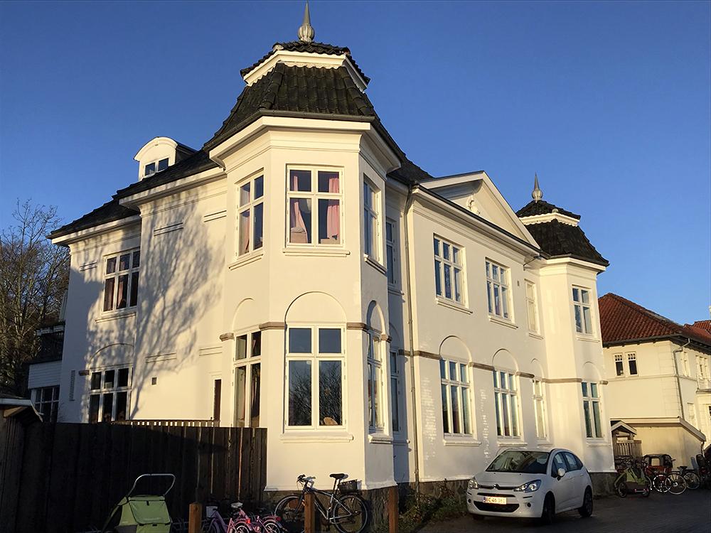 Bevaringsværdi bygning rummer Solhjem Børnehave i Aarhus