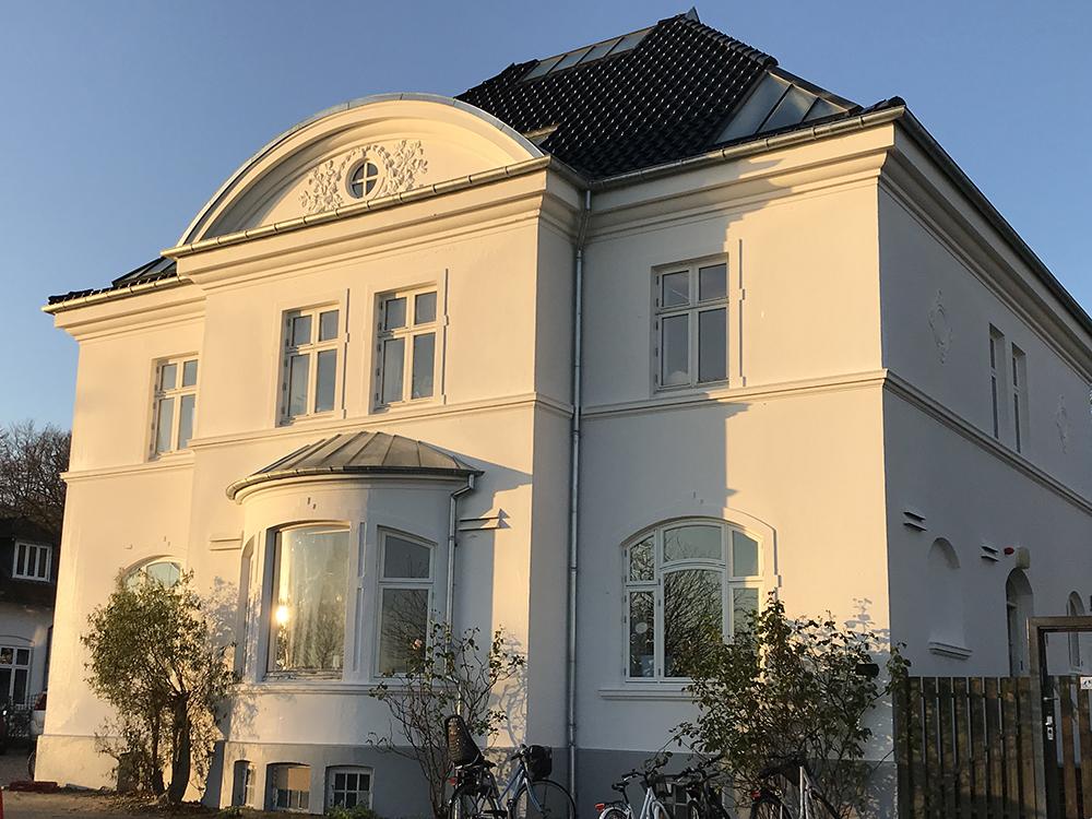 Fredet bygning rummer Solhjem Vuggestue i Aarhus