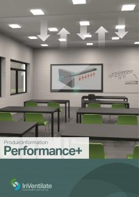 Illustration af Performance+ ventilationsprodukt fra InVentilate