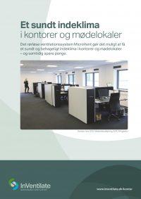 Et sundt indeklima i kontorer og mødelokaler