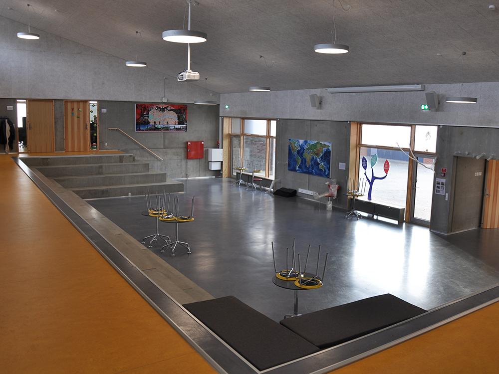 MicroVent ventilation i fællesrum på Hadbjerg Skole