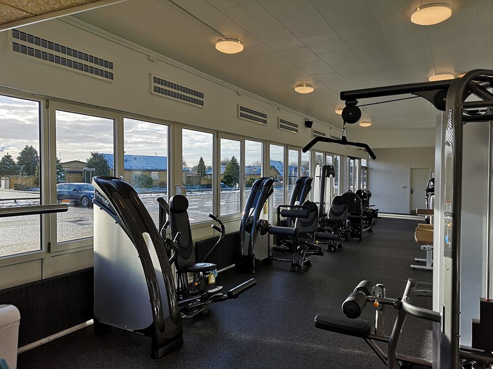 MicroVent ventilationssystem i Alhedens Fitnesscenter