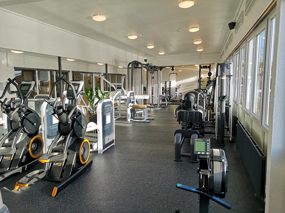 MicroVent ventilation sikrer frisk indeklima i Alhedens Fitnesscenter