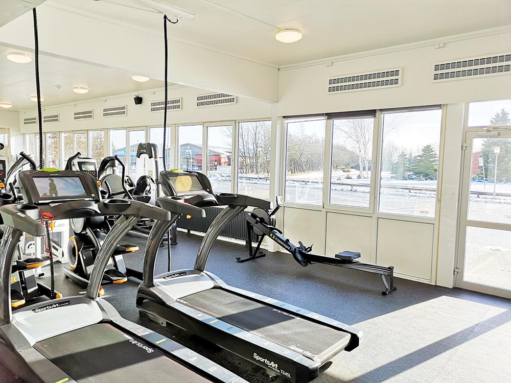 MicroVent ventilationssystem sikrer frisk indeklima i Alhedens Fitnesscenter