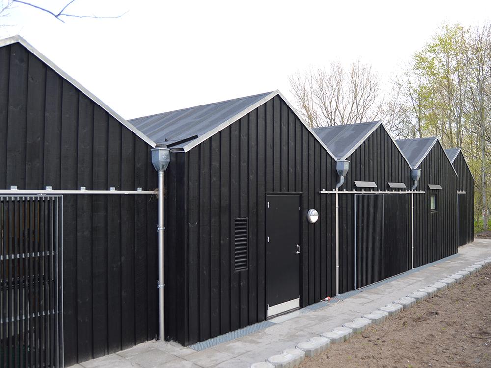 Børnehaven Himmelblå med udendørs MicroVent ventilationssystem installeret