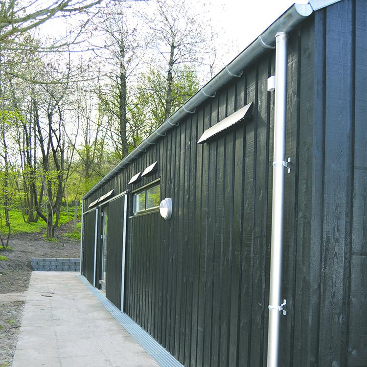MicroVent ventilationsenheder installeret udendørs på Børnehaven Himmelblå