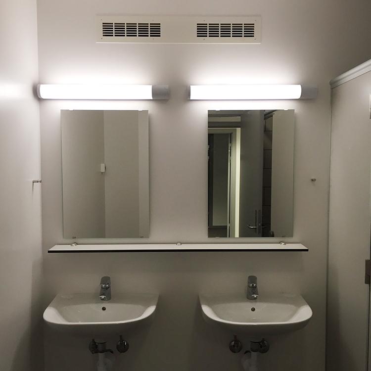 MicroVent ventilation sikrer sundt indeklima på toilettet på Dronninglund Efterskole