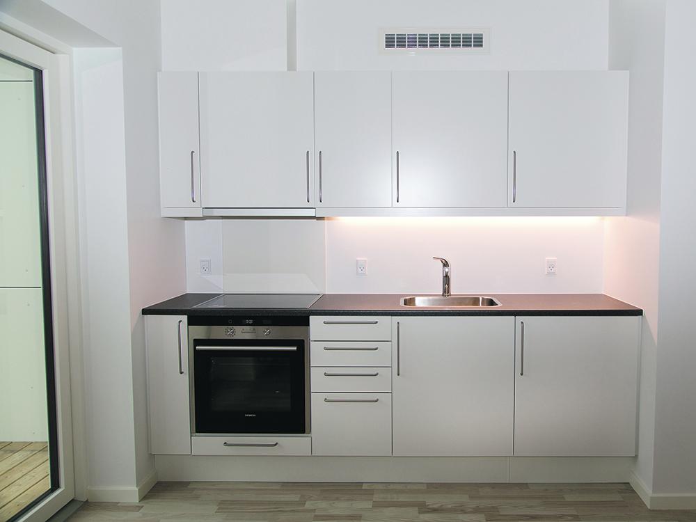 MicroVent ventilation i køkkenet i hjemløseboliger