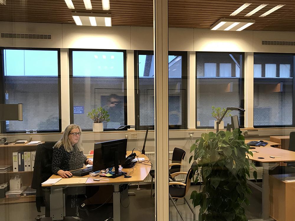 MicroVent ventilation sikrer sundt indeklima på kontoret på Otting Skole