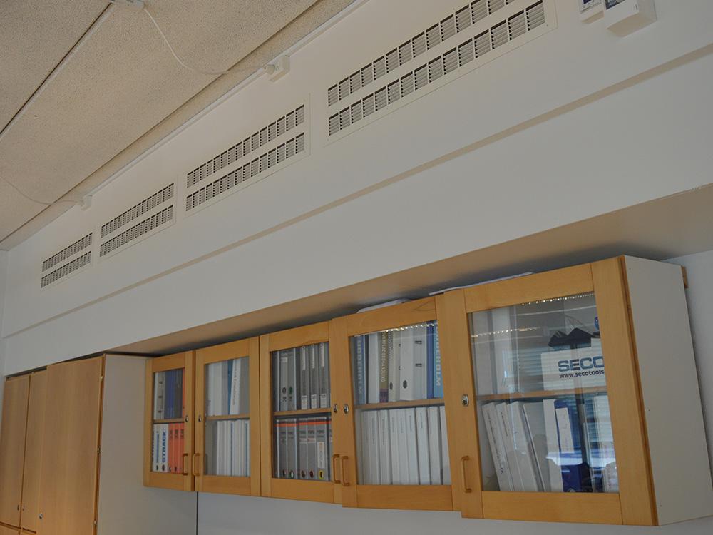 MicroVent ventilation sikrer sundt indeklima på Skive Tekniske Skole