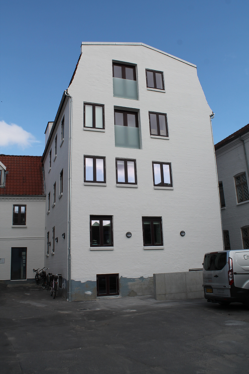 Bygningen Tiendeladen i Aalborg