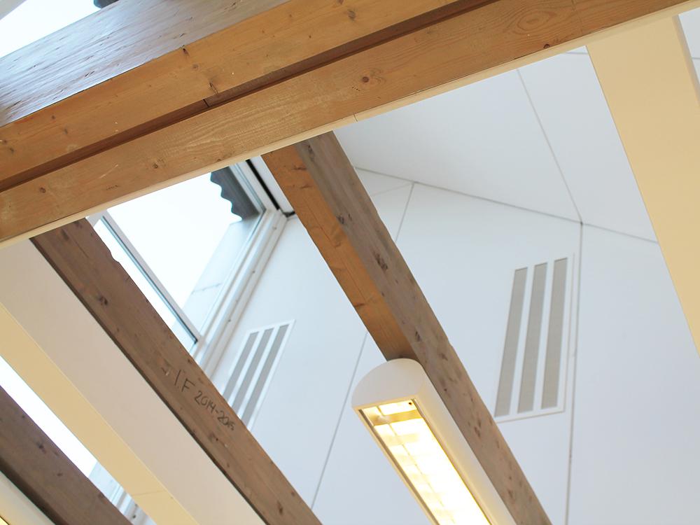 MIcroVent ventilation sikrer sundt indeklima på Slagelse Gymnasium