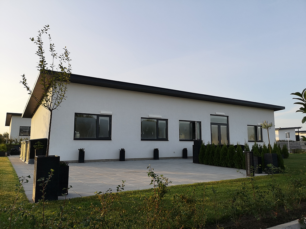 Microvent ventilation installeret på hus i Rosenhaven
