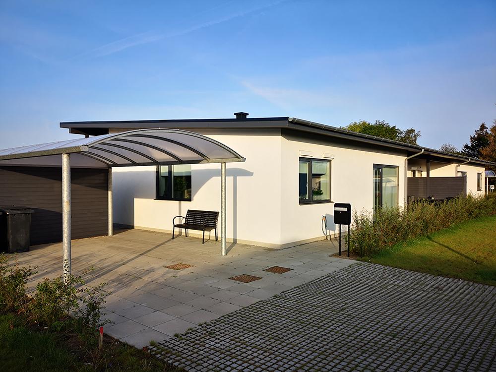 Hus i Rosenhaven i Slagelse med Microvent ventilation