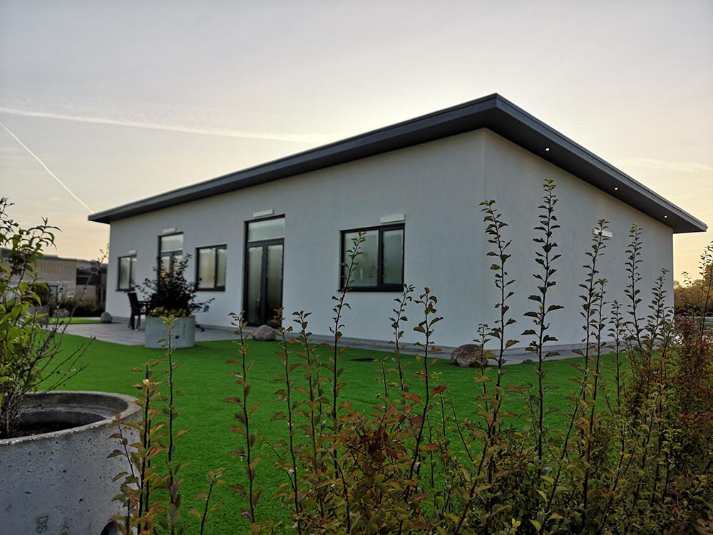 Hus i Rosenhaven med MicroVent ventilation installeret