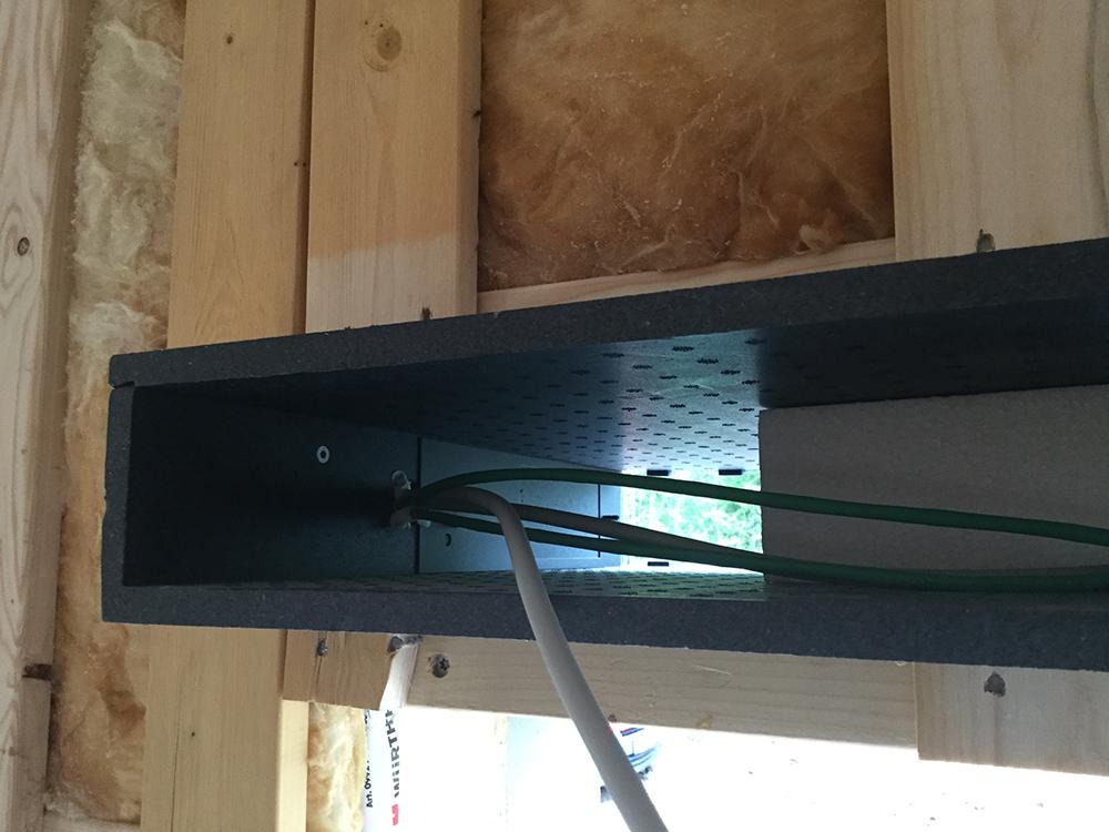 Installation af MicroVent ventilation i Rosenhaven