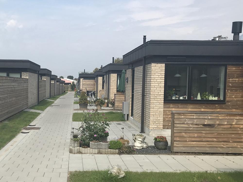 Klyngehuse i Birkerød med Microvent ventilation