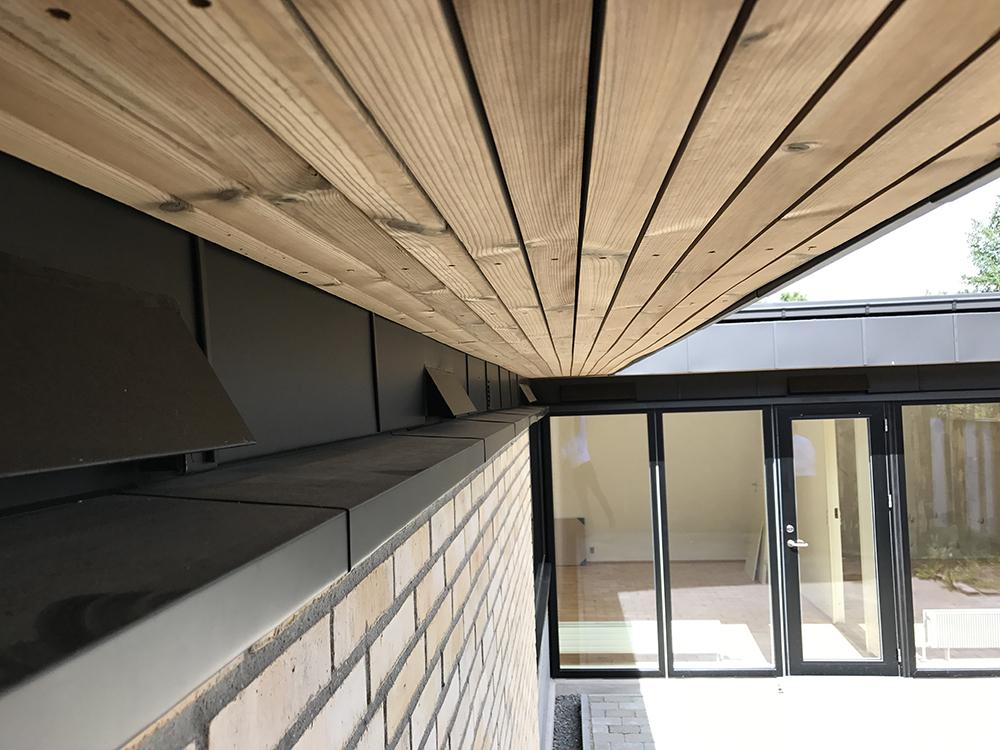 MicroVent ventilation på hus i Byager Vænge