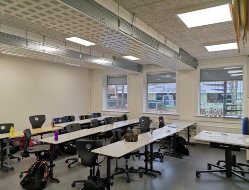 InVentilate sikrer frisk luft på Stenløse Skole