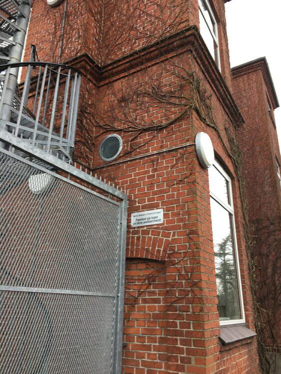 Udvendig Performance+ ventilationssluse på Skaade Skole